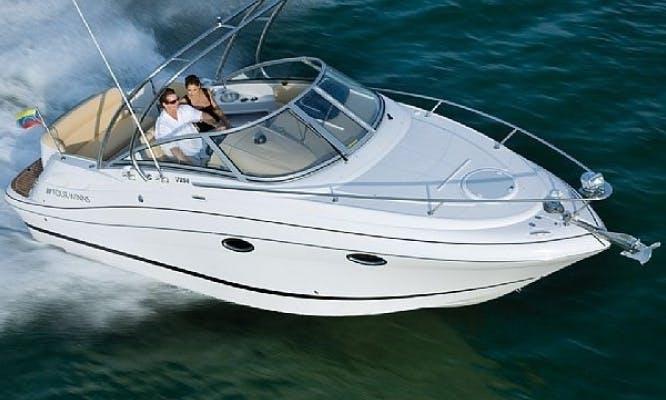 Four Winns Vista 258 Motor Yacht in Bibinje, Croatia