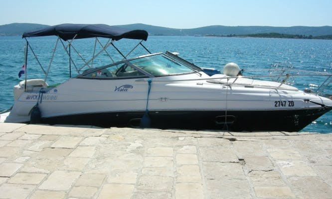 Hire a Four Winns Vista 248 for 4 People in Bibinje, Croatia