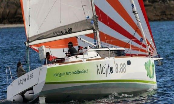 Mojito 888 Cruising Monohull Rental In La Trinité-sur-Mer, France