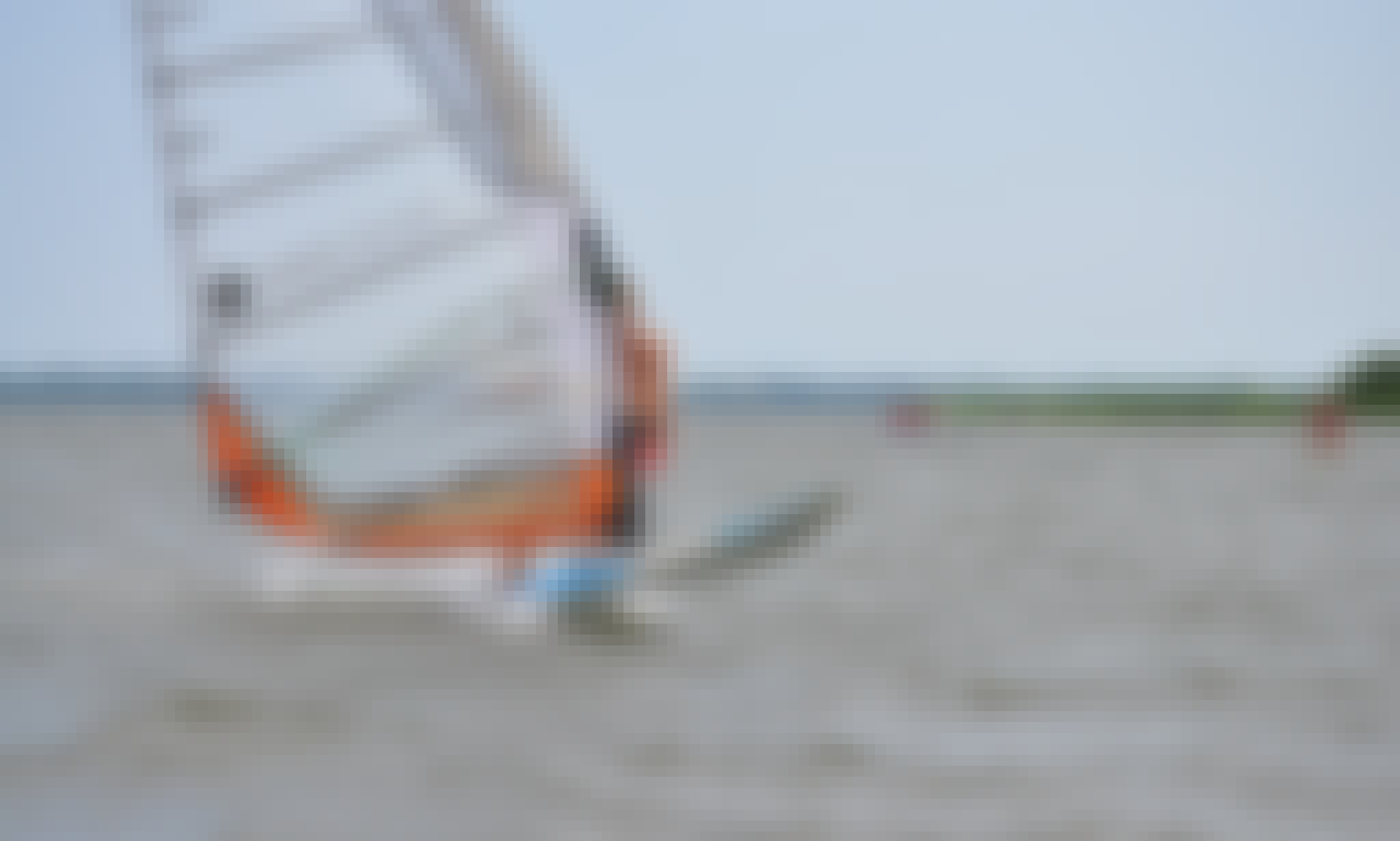 Windsurfing Lessons in Wilkasy, Poland