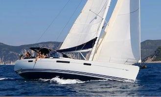 """Jeanneau 57 """"Farfelu"""" Sailing Yacht for 8 People in Corfu, Greece"""