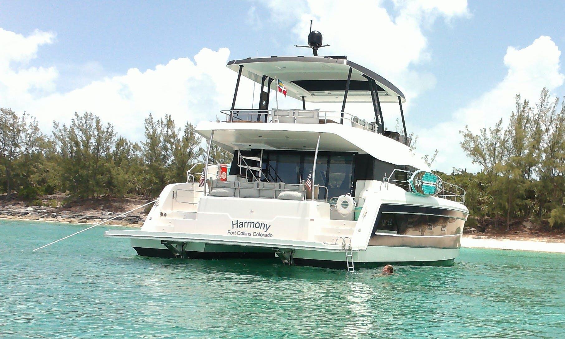 Power Catamaran Charters Bahamas and Florida keys