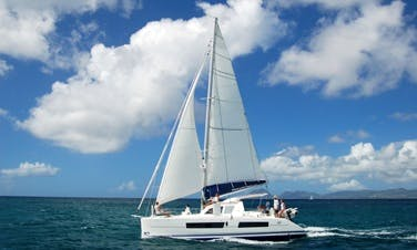 Catana 41 Oc Cruising Catamaran Charter In Raiatea, Tahiti