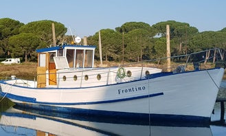 45' Alfeite Ship Yard Yacht for up to 18 Pax in Lisboa, Portugal
