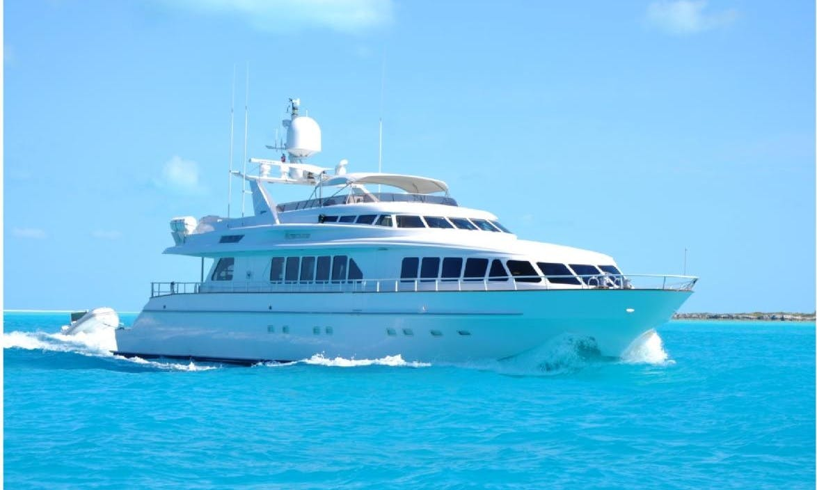 115 ft Trinity Motor Yacht Rental in Boston