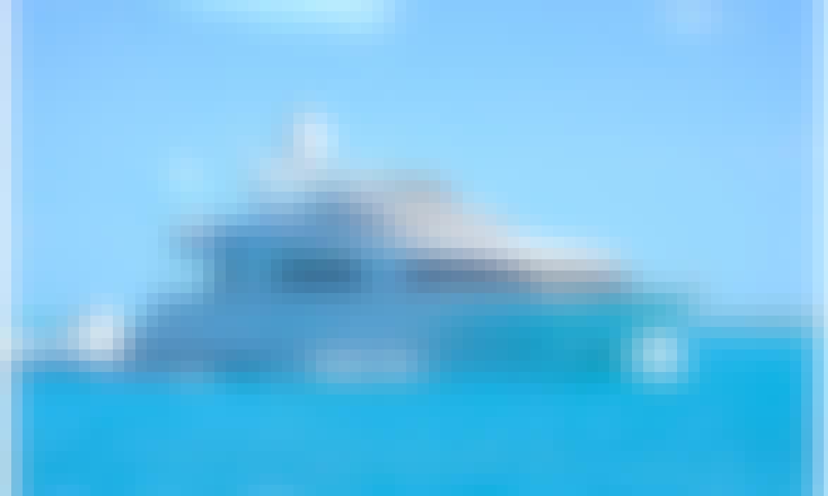 115 ft Trinity Motor Yacht Rental in Boston