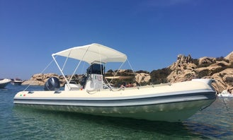 Hire Expo 580 Rigid Inflatable Boat for 8 Person in Cannigione, Italy