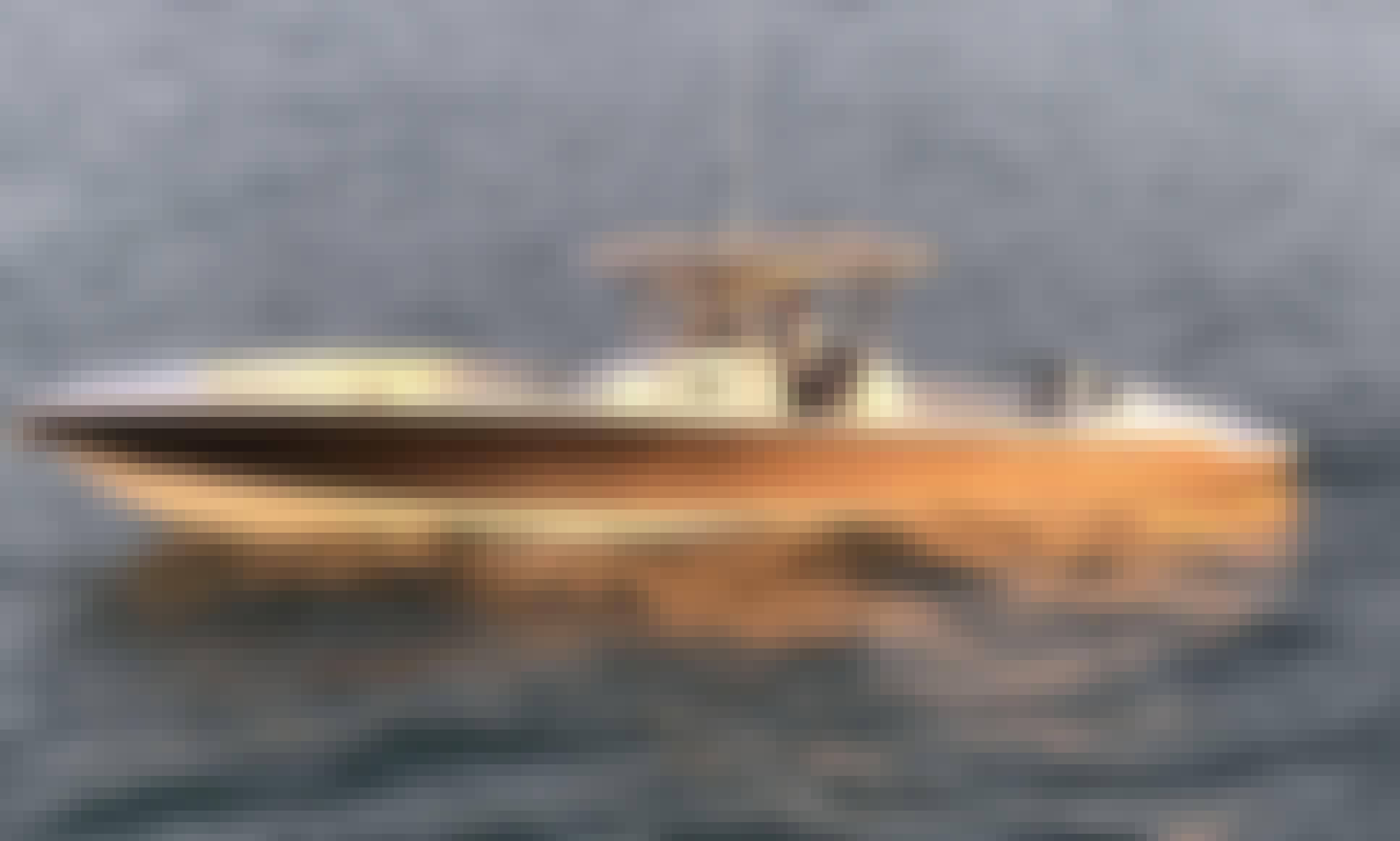 Luxury Yacht tender in Miami