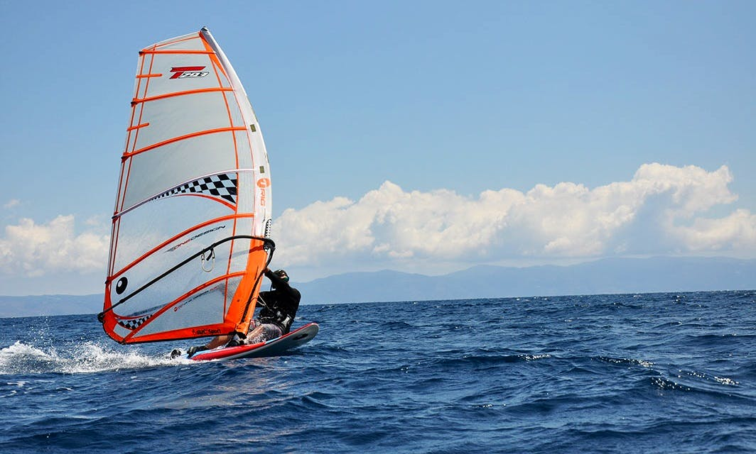 Private Windsurfing Lesson in  Thessaloniki and Chalkidiki