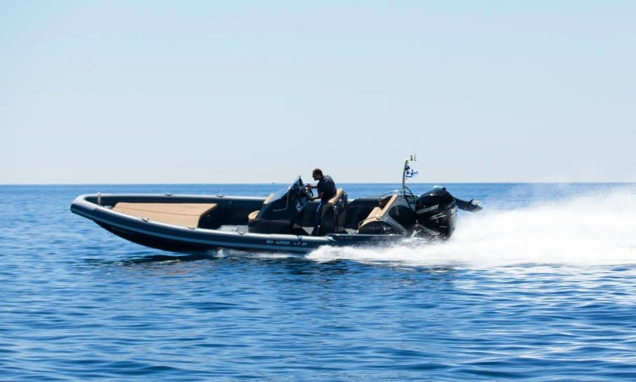 29' Fost Revolution Rigid Inflatable Boat in Kalyvia Thorikou, Greece