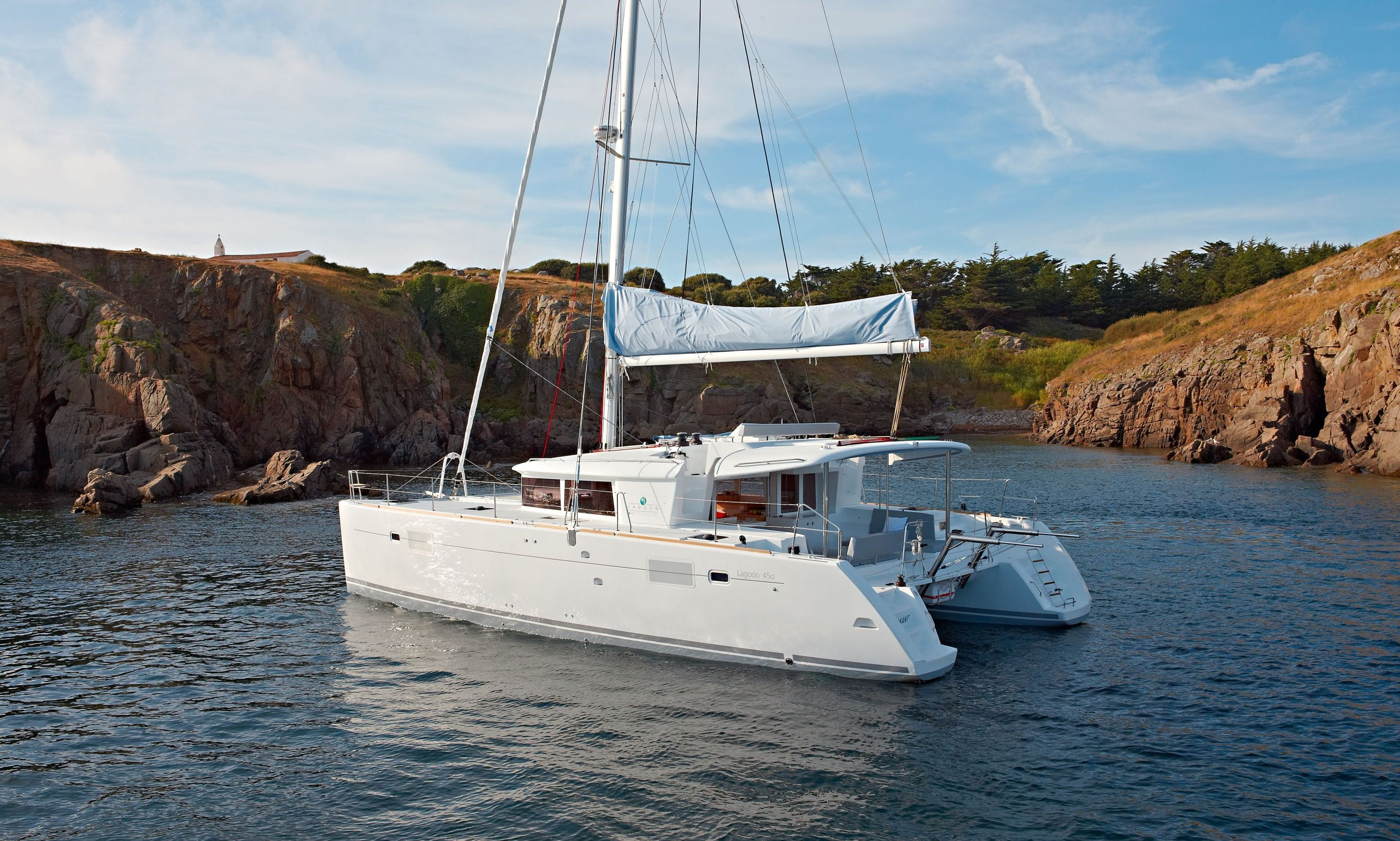 "Charter The 45ft ""Paula & Hana"" Cruising Catamaran In Primošten, Croatia!"