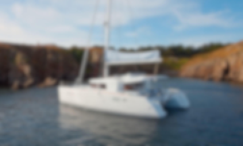 "Charter The 45ft ""Paula & Hana"" Cruising Catamaran In Primošten, Croatia!"