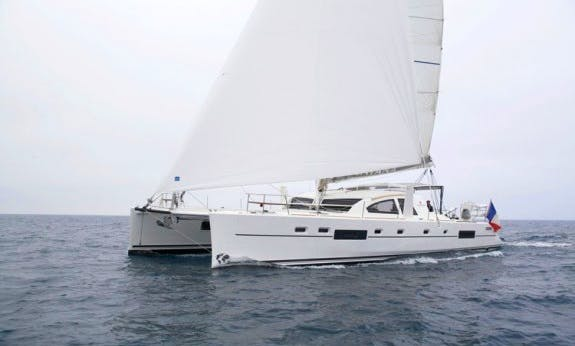 Catana 55 Ci Cruising Catamaran Rental In Raiatea, Tahiti