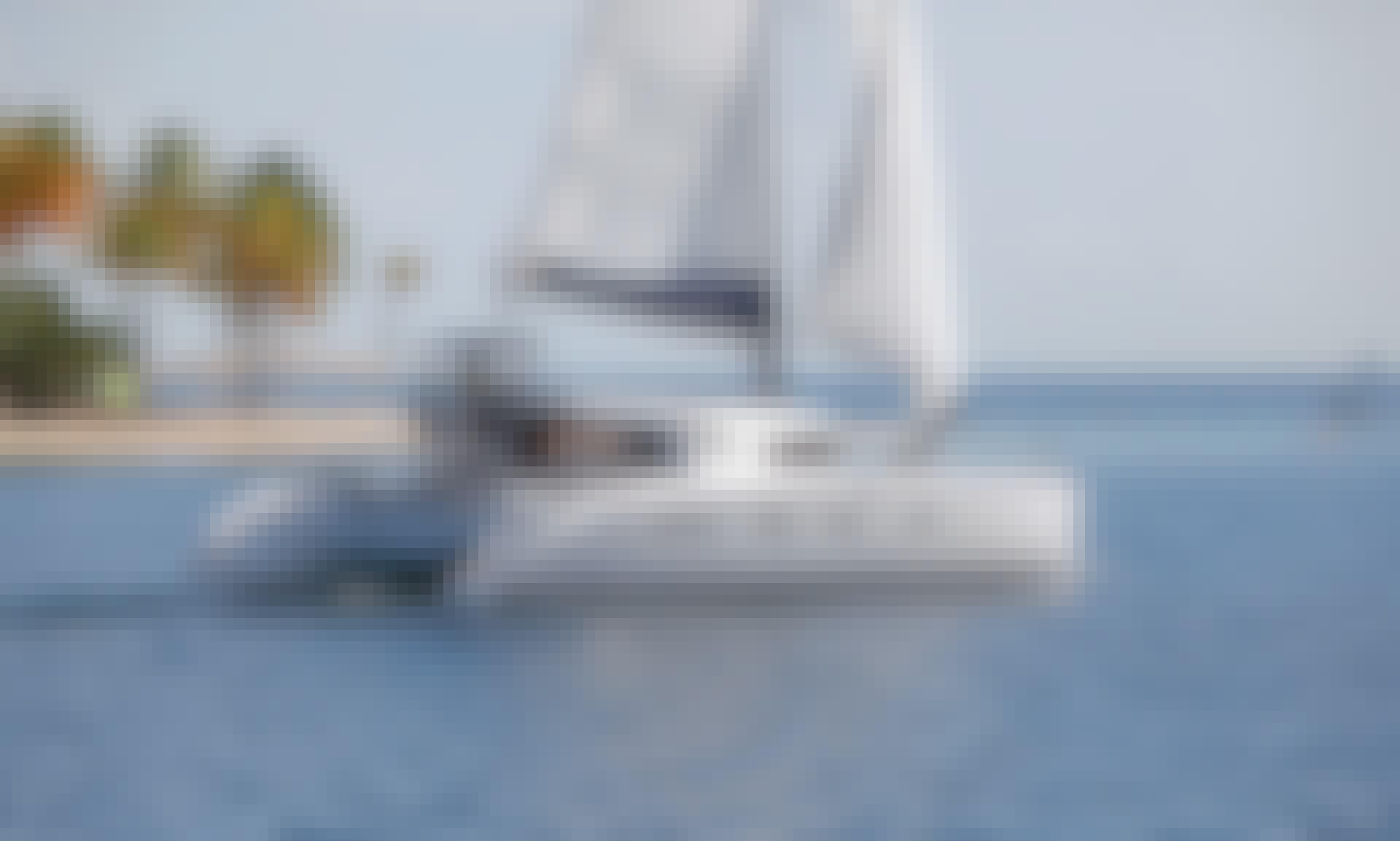 Catamaran Nautitech 44 in French Polynesia