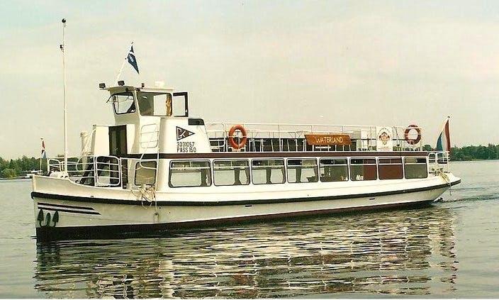 Passenger Boat Waterland Charter for 45 People in Vinkeveen, Netherlands