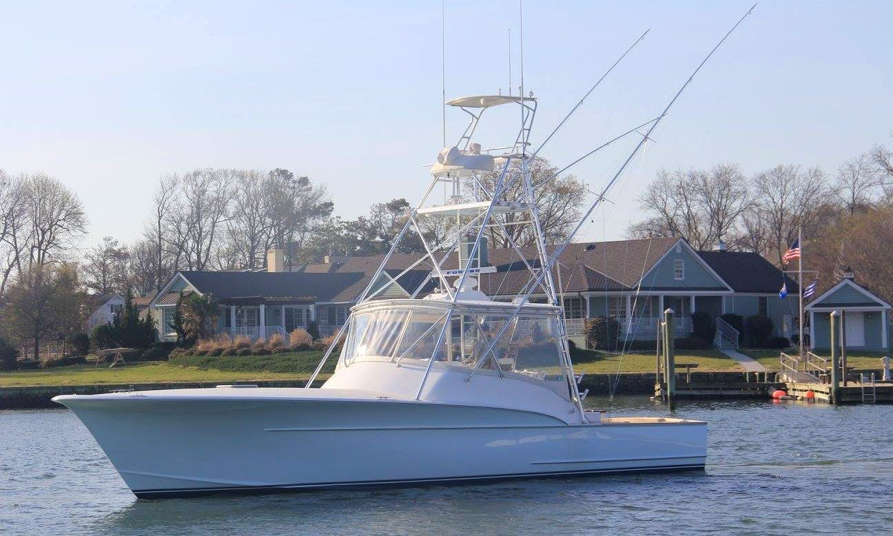 Virginia Beach Fishing Charter on  45' Carolina Sportfisher Yacht