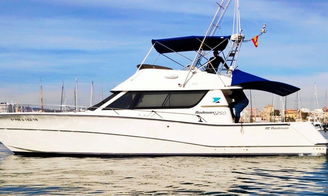 Rodman 1250 Fishing Yacht Charter in Palma, Spain