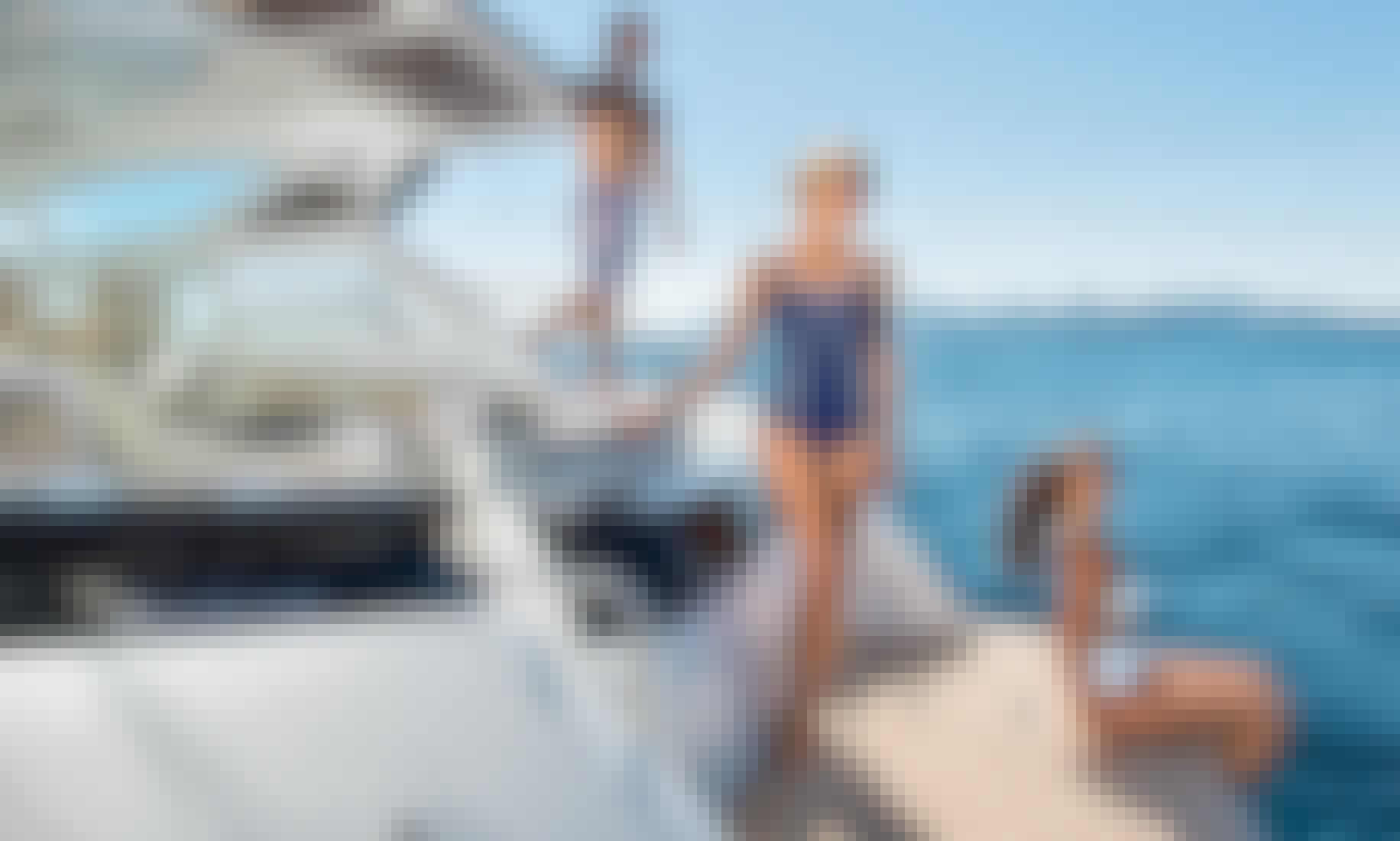 Gran Turismo 40 Motor Yacht Charter in Mauritius