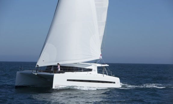 Discover The Seychelles Islands On Bali 4.5 Sailing Catamaran