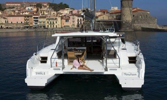 Exhilarating Sailing Holidays In Baie Sainte Anne, Seychelles On Bali 4.5 Cruising Catamaran