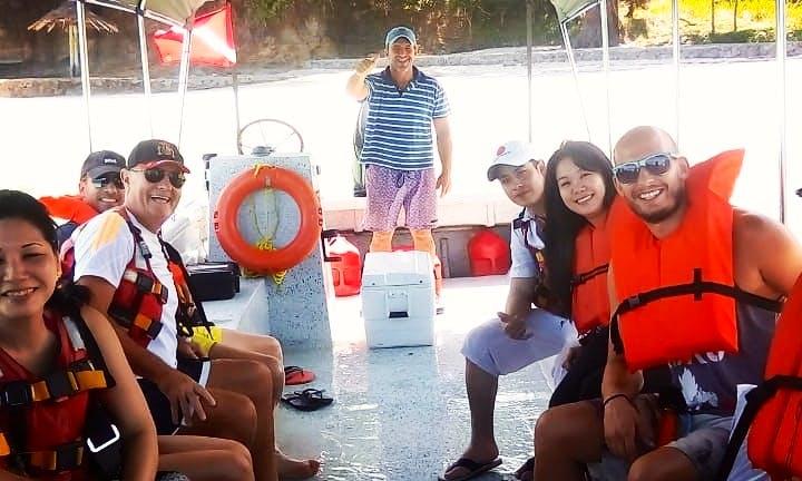 Boat In  Contadora ISLAND