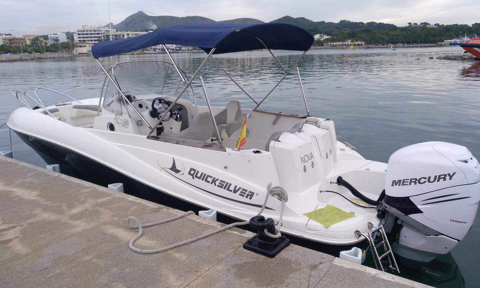 Quicksilver 720 commander