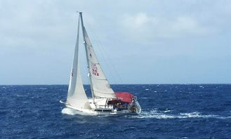 28' Catalina Sailboat - Private Cruises in Willemstad, Curacao