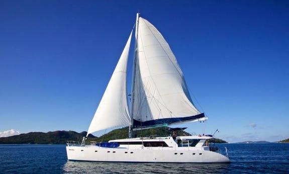 Charter The Mojito 82 Cruising Catamaran In Baie Sainte Anne, Seychelles
