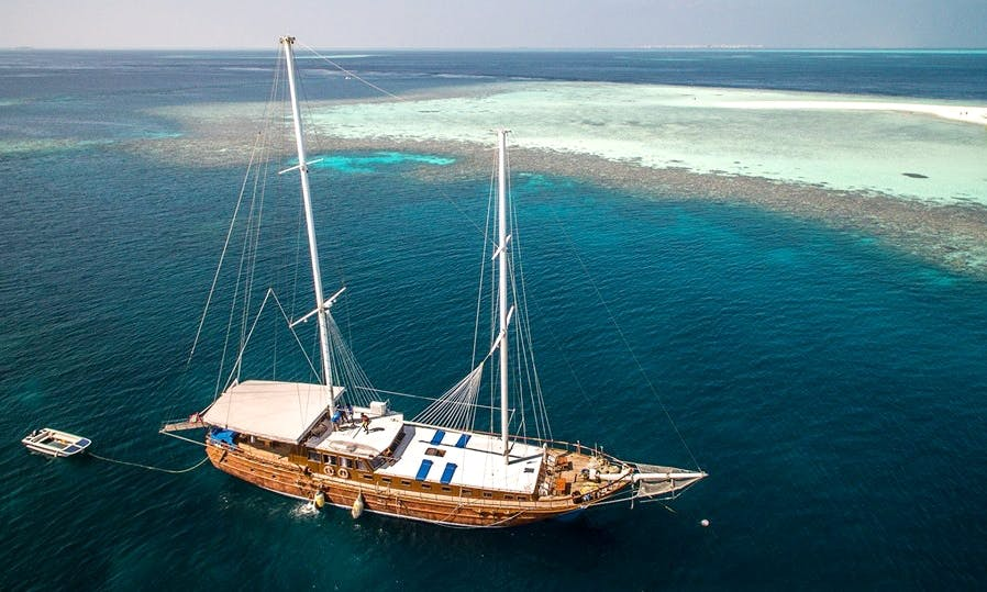 "Come Aboard ""Felicity"" For The Ultimate Tropical Maldives Trip"