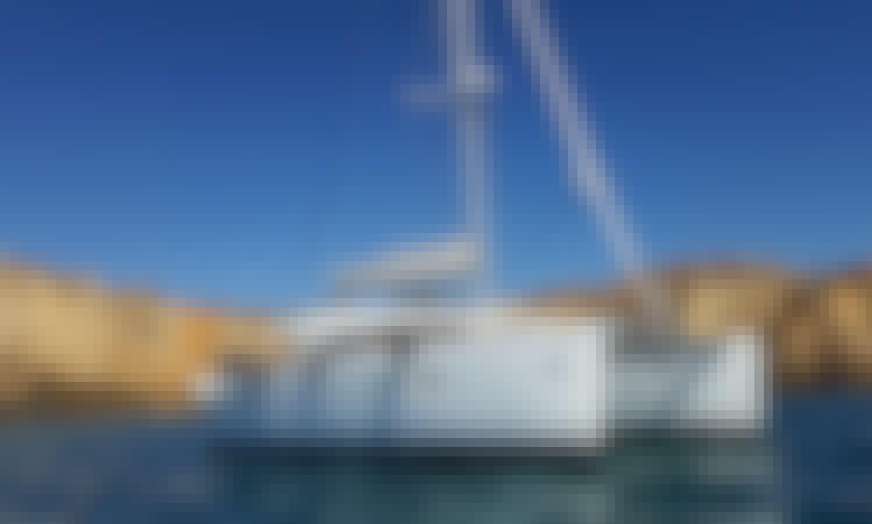 Lagoon 400 S2 Catamaran Charter in San Antonio Port, Ibiza