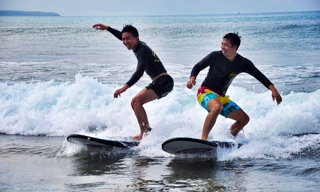 Fun Surf Lessons with Amazing and Professional Instructor in Bali, Indonesia