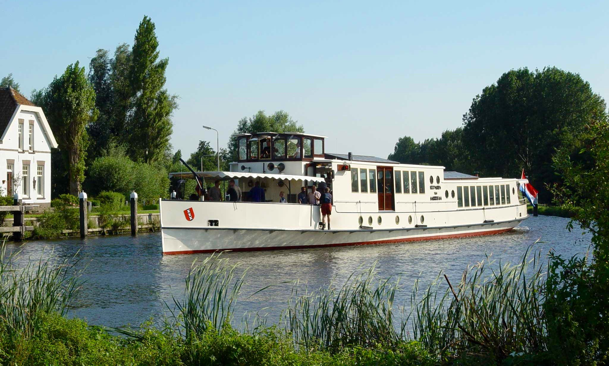 Largest Cruising Saloon Boat For Events - Takes Up To 175 Guests In Amsterdam
