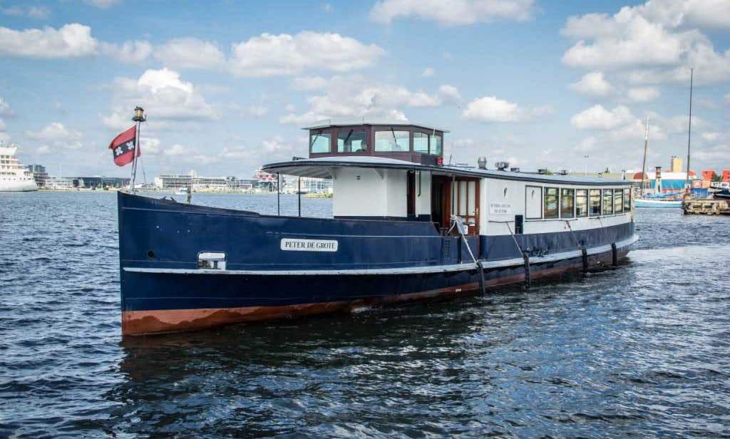 Rent the Peter the Great Canal Boat for 70 People in Amsterdam