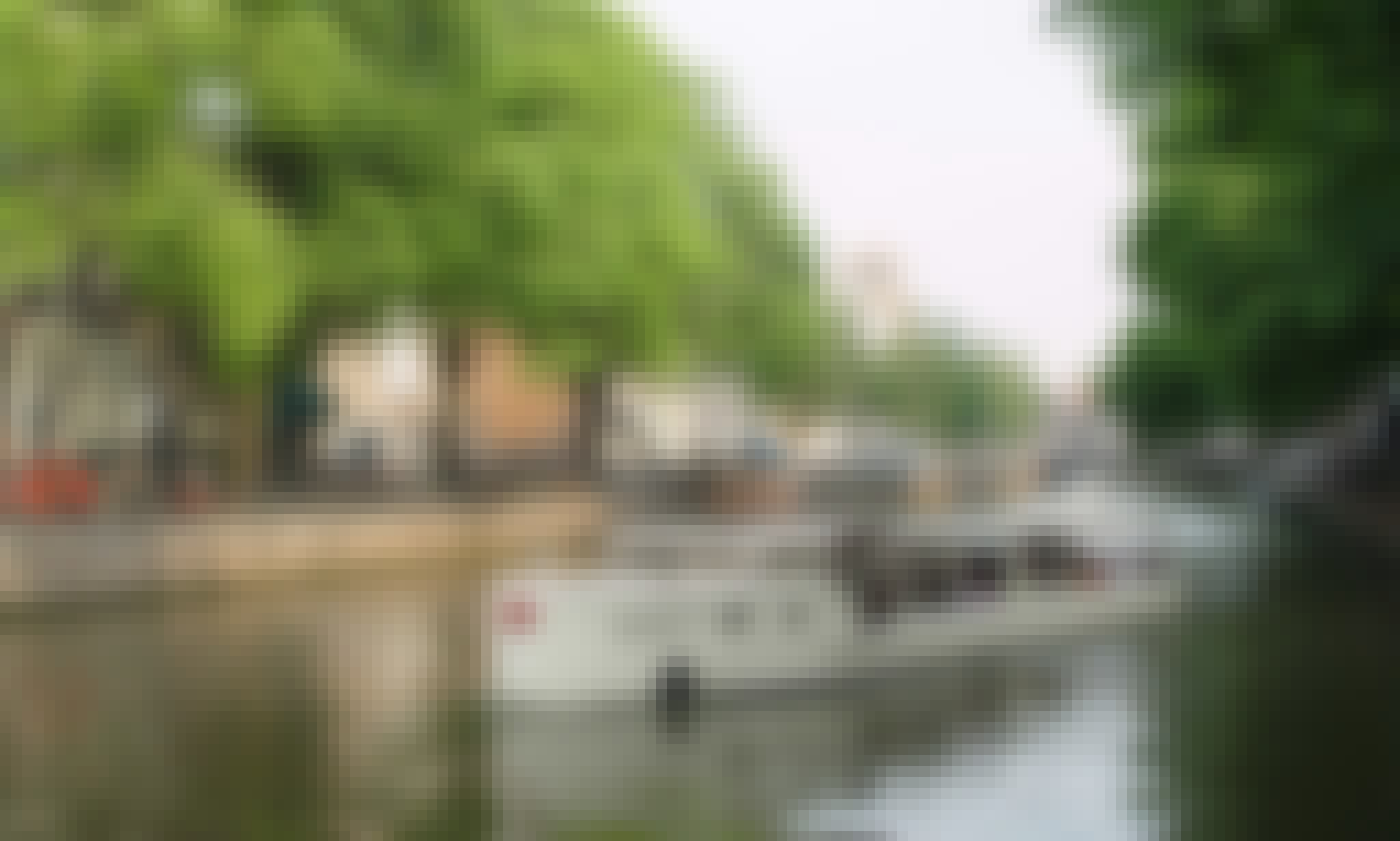 60-Person Citytender Canal Boat for Reservation in Amsterdam