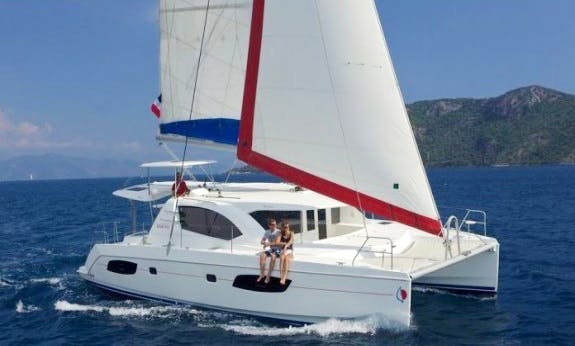 Beautiful 44' Leopard Cruising Catamaran Rental In Palma, Spain