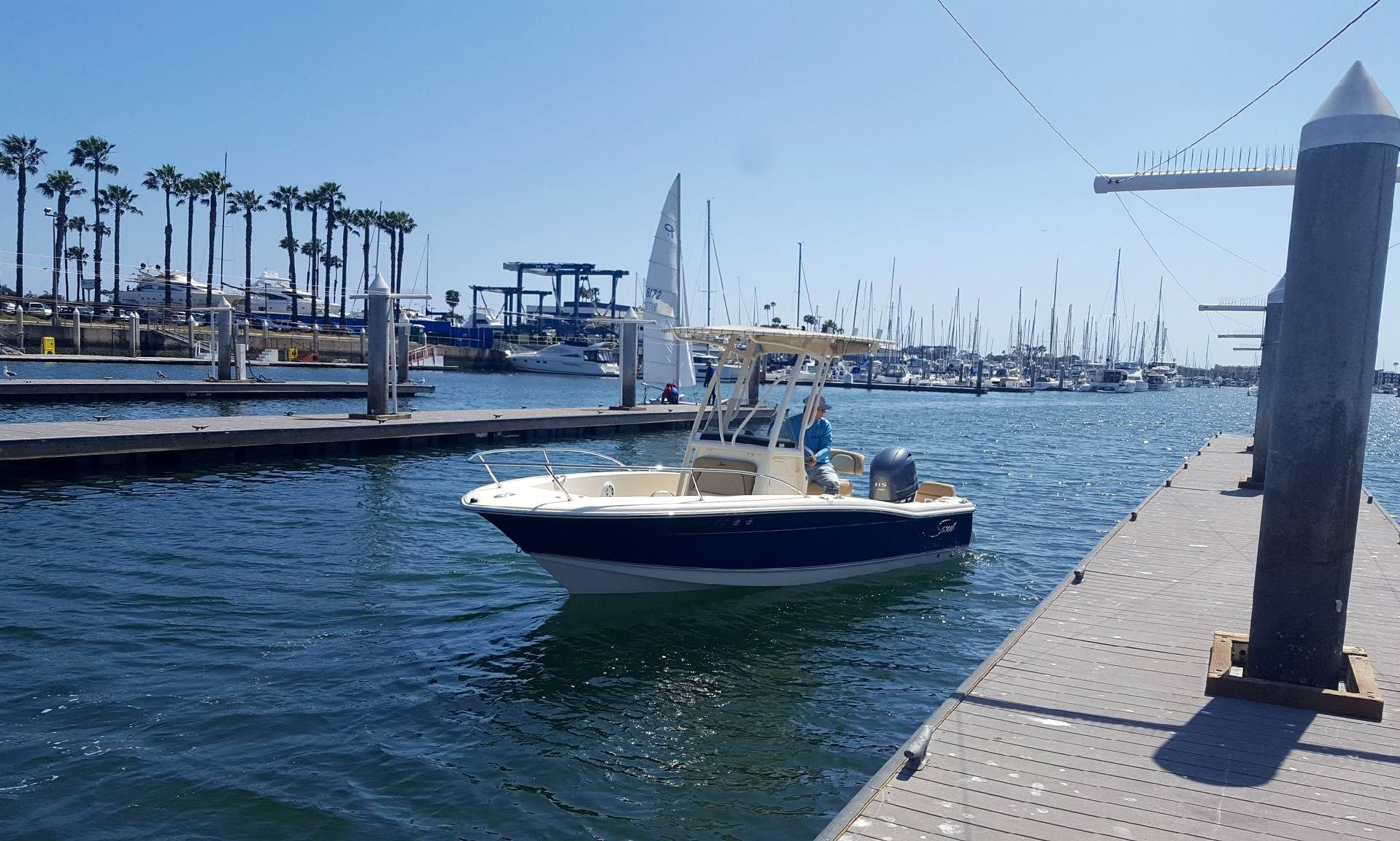Power rental in Marina del Rey