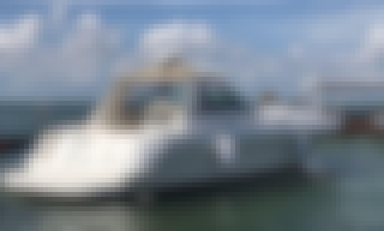 42' Sea Ray Sun Dancer Motor Yacht Charter in Cancún