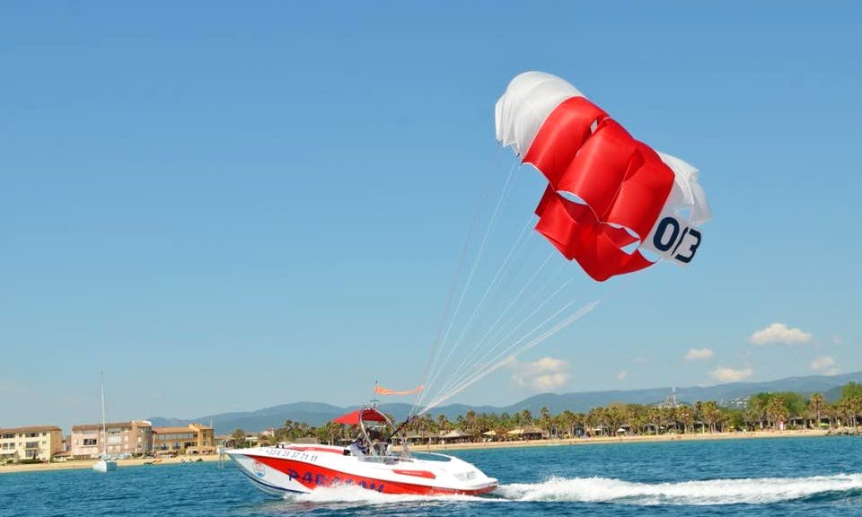 Parasailing Adventure in Saint-Tropez, France