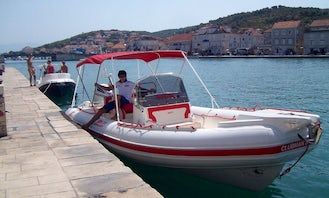 Blue Cave Private Tour in Split with Joker Boat Clubman 26 Special