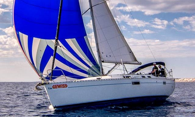 Sail away on this Cruising Monohull rental in Ta' Xbiex, Malta