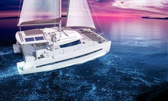 Reserve The 2017 Bali 4.1 Cruising Catamaran in Corsica, France