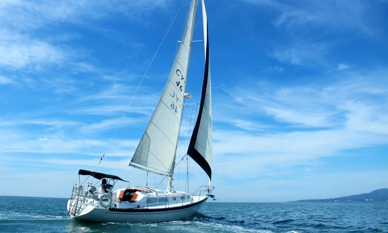 Beautiful Islander 36' Sailboat for Charter in Nuevo Vallarta