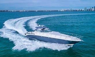 WE ARE OPEN IN MIAMI - 54′ Sea Ray Sundancer Motor Yacht in Miami, Florida