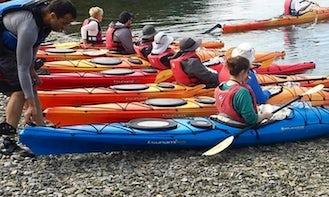 Single Kayak Rental in Nanaimo, Canada