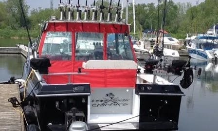 Sportfishing Charter on Lake Ontario with Captain Shawn