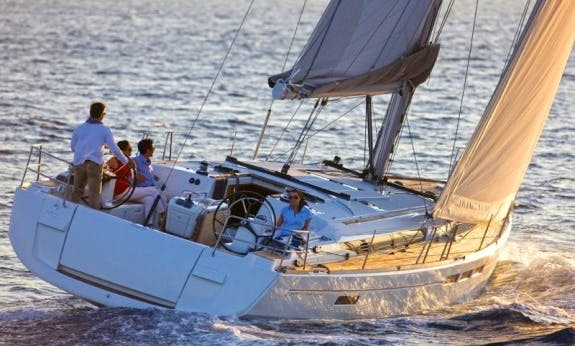 Amazing 2017 Sun Odyssey 519 Sailing Yacht In Corsica, France