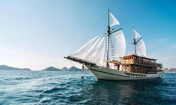 88' Sailing Gulet for 12 People in Denpasar Selatan, Indonesia