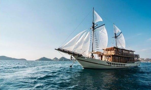 88' Sailing Gulet for 12 People in Denpasar Selatan, Indonesia