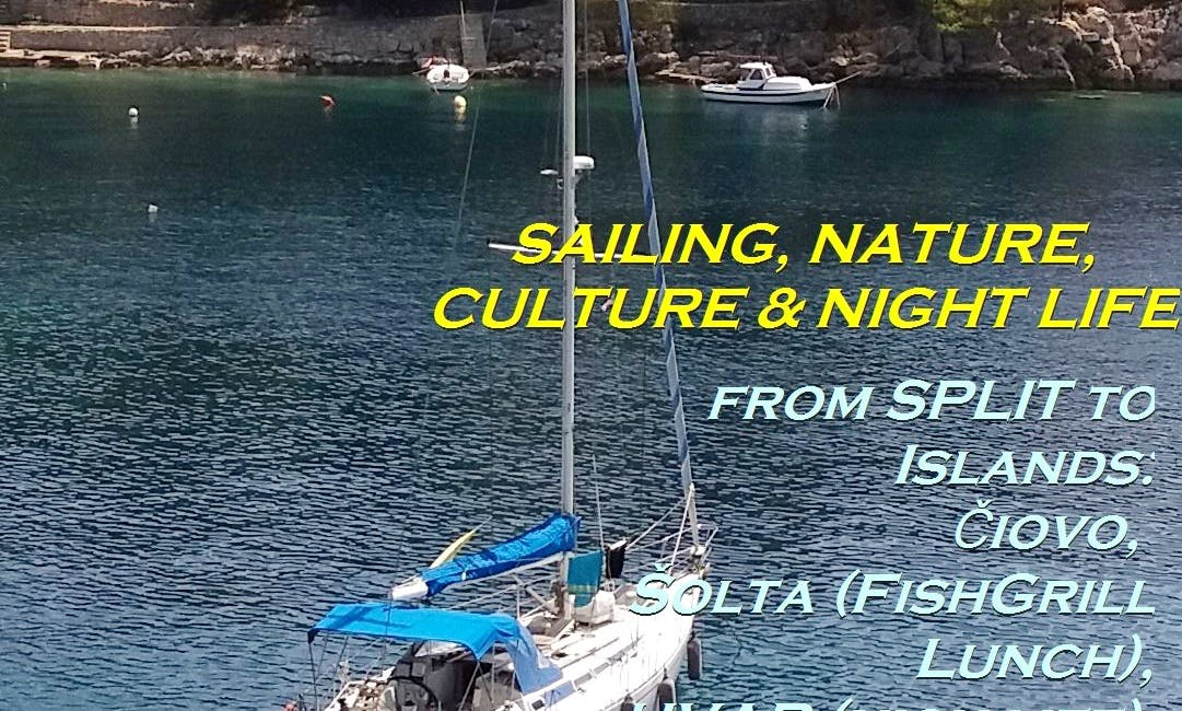 Two days Trip w 42foot Sailing Boat from Split