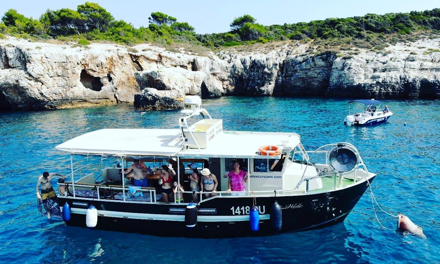 Motor boat Coastworker 30 in Pula,Istria,Croatia
